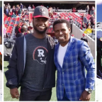 "Michael ""Pinball"" Clemons praises fellow William and Mary Alumn and now REDBLACKS wide receiver DeVonte Dedmon"