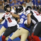 Arndt comes off first start, Redblacks have eyes glued on future following 28-21 loss to Argonauts