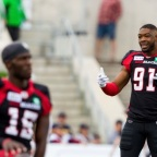 Bringing the band back together; the Ottawa Redblacks announce the re-signing of a few of defensive studs, also bring in draft picks Treshaun Abrahams-Webster, Reshaan Davis negotiations list player Brandon Hitner