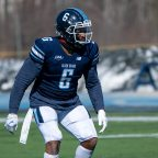 """His impact was significant."" newly drafted pass rusher Deshawn Stevens remembers Redblacks teammate Sherrod Baltimore coaching him during his freshman season at Maine"